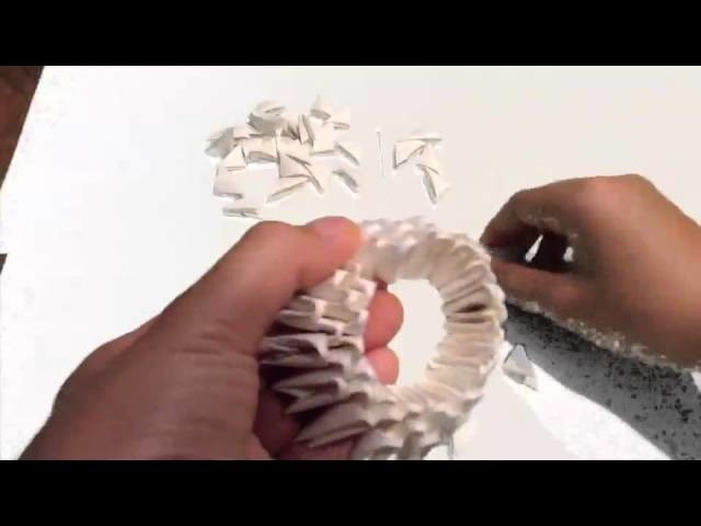 How to make a 3d origami base