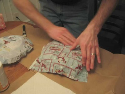 How to Make a Fabric Plate