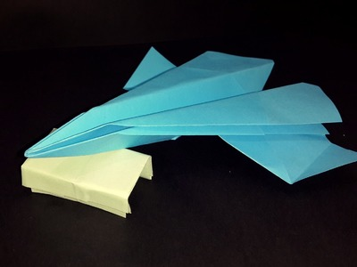 How to make a Origami fighter aircraft that flies very fast