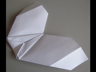 How to make a Paper Airplane Flying Wing that Glides Very Well