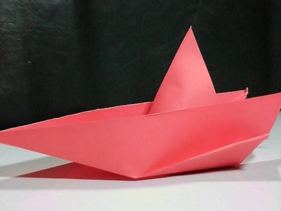 How to make a paper speed boat | Origami Speed Boat | Paper Boat | Paper Craft