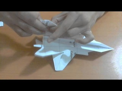 How to make F-35 with intake that can fly
