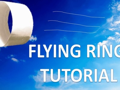 How to Make Flying Tube.Flying Ring COBCOB Tutorials