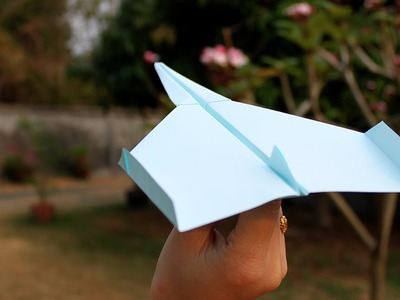 How to make Paper Plane that fly far | Origami Plane - Paper Plane fly far tutorial