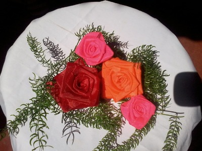 How to make ROSE using Ribbon(kerala)