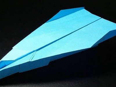How to make the BEST Paper Airplane in the World - Cool Paper Airplanes that FLY FAR   Cooper