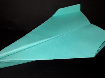 How to make very fast paper Airplane-Origami tutorial