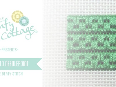 How to Needlepoint - The Beaty Stitch