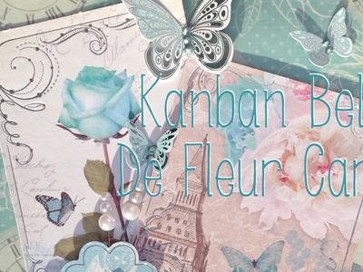 KANBAN BELLE DE FLEUR ROSE CARD