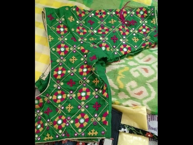 Kutch Work Designer Blouses Embroidery Work