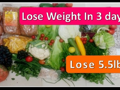Magical Weight loss Diet plan , Lose 5.5 Lbs in just 3 days , NO EXERCISE , questions Answered