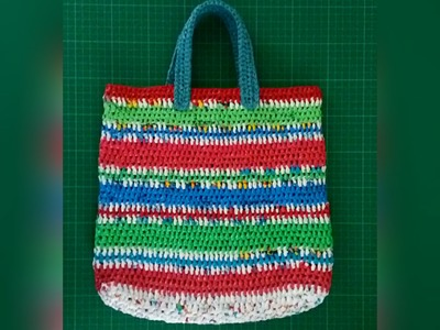 Making Plarn Bags (Pattern 3)