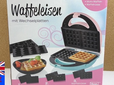NEW WAFFLE IRON UNBOXING, 3 in 1! New from Lidl