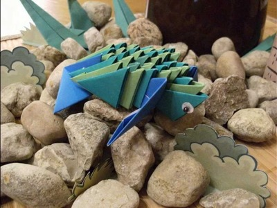 Origami 3d - little turtles - how to make