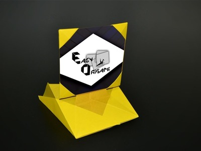 Origami: Picture Frame. Photo Frame - Instructions in English (BR)
