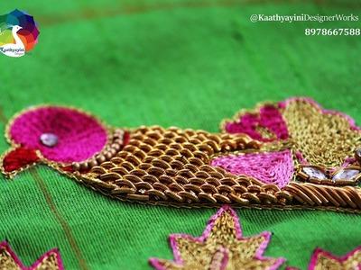 Parrot Motif Making at Kaathyayini