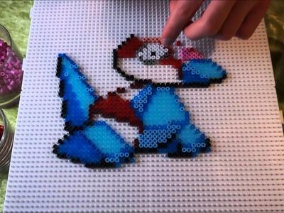 Pokémon PORYGON - Hama Beads. Perler Beads