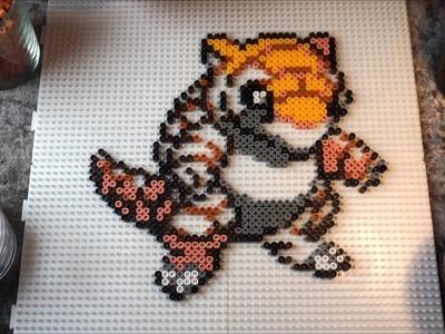 Pokémon SANDSHREW - Hama Beads. Perler Beads