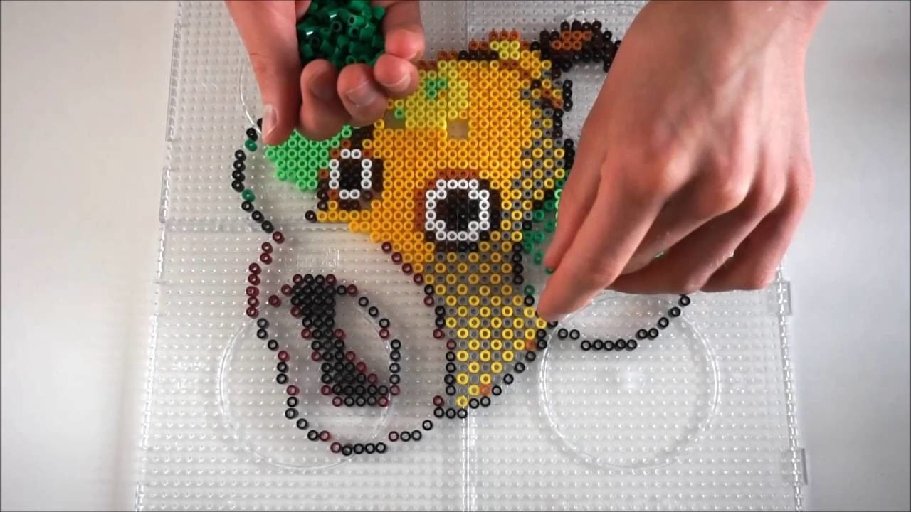 Pokémon WEEPINBELL - Hama Beads. Perler Beads