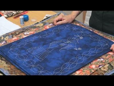 Sashiko Stitching with The Stitch Witch (taster video)