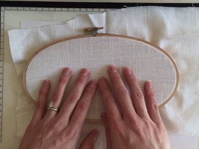 Transferring an Embroidery Pattern Tutorial