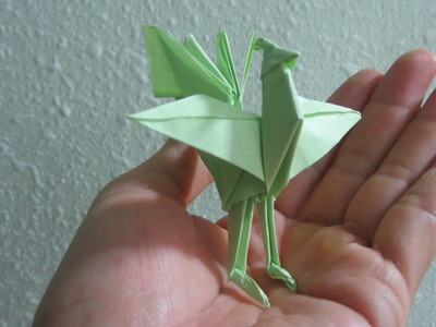 TUTORIAL - How to make a Origami Chinese Phoenix (Creator: Jun Maekawa)