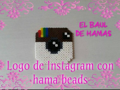 ❤TUTORIAL: Logo de Instagram con hama beads❤
