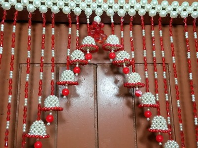 WOW! Beautiful Beaded Wind Chime || How To Make Door.Wall Hanging Decoration || You May Do This