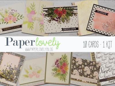 10 Cards, 1 Kit | Simon Says Stamp June 2017