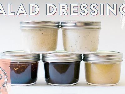 5 DIY Salad Dressings for #BuzyBeez ????