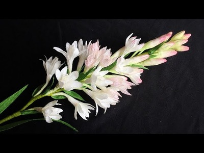 ABC TV | How To Make Tuberose Paper Flower From Crepe Paper - Craft Tutorial