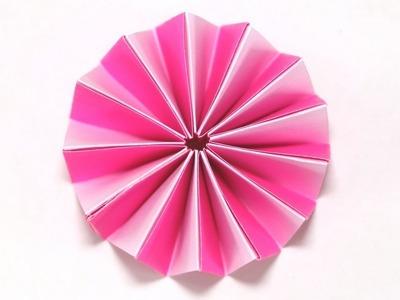 Accordion Paper Flower I Easy I DIY I Craft I Tutorial I