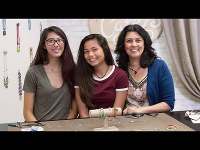 Artbeads Cafe - DIY Stacked Bracelets With Cynthia and Jessica Kimura, and Special Guest Lea