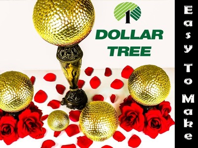 Beautiful and Easy to Make Centerpiece using Dollar Tree items