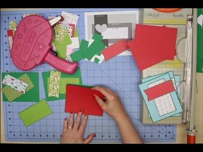 Christmas 6x6 Series using Doodlebug Here Comes Santa Claus - Part Seven