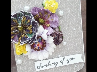CRAFT  CHAT WITH ME   PRIMA PASTEL   POP UP CARD   TCC