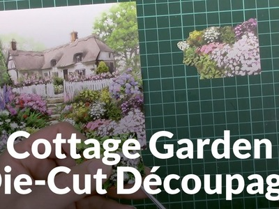 Craft Creations 3D Decoupage Cottage Garden DCD650 Detailed Assembly Demo