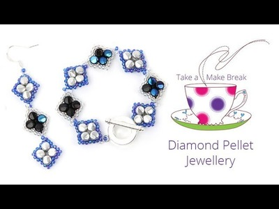 Diamond Pellet Jewellery | Take a Make Break with Beads Direct