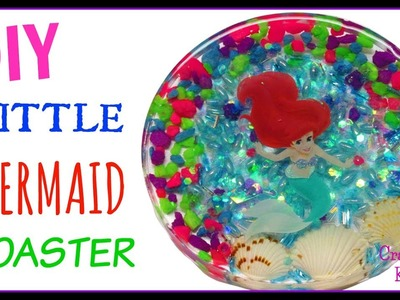 Disney Princess~ The  Little Mermaid Coaster ~ Another Coaster Friday ~ Craft Klatch DIY
