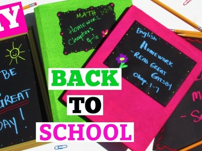 DIY Back To School Projects & VersaChalk Giveaway!!! Craft Klatch