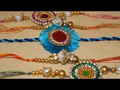 DIY Craft: Best ideas to make Rakhi - How to make beautiful rakhi at home - Latest Rakhi Design 2017