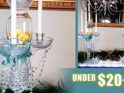 DIY Dollar Tree Four Candle Candelabra | Copycat Series