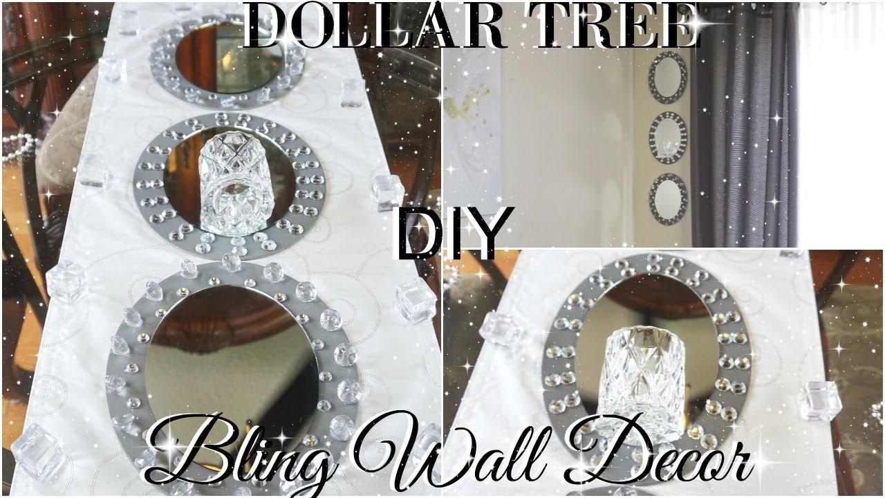 DIY DOLLAR TREE GLAM MIRROR WALL SCONCE STORE