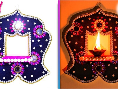 Diy ideas | how to make handmade diya stand at home | Best out of waste | Artkala 243