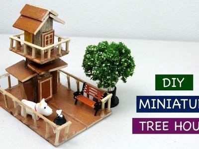 DIY Miniature Tree House for Fairy Garden #3 - Creative Craft ideas