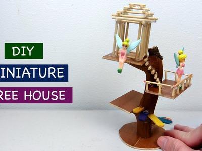 DIY Miniature Tree House for Fairy Garden #2 - Easy Craft ideas