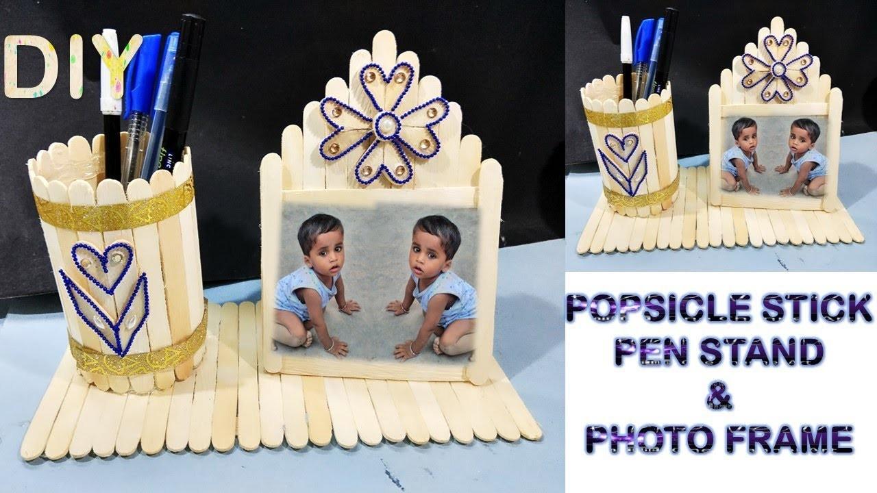 homemade pen holders hedgehog pen holder handmade pen stand with icecream  sticks .