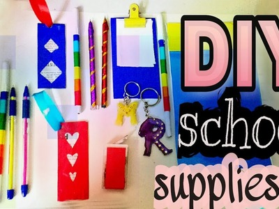 DIY School Supplies || Easy Back to school craft Ideas