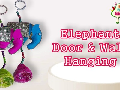 Elephant Door Wall Hanging Handicraft Making II DIY Craft Ideas