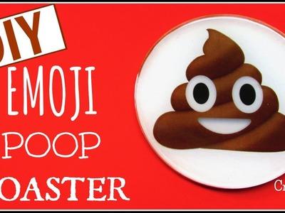 Emoji Poop Coaster ~ DIY ~ Another Coaster Friday ~ Craft Klatch
